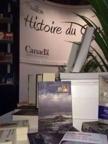 La femme du capitaine au pavillon Histoire du Canada en 2014